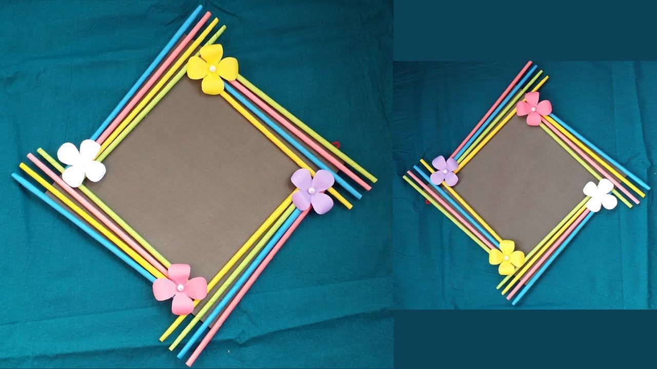 DIY: Easy Photo Frame Tutorial! !!! (Birthday Gift Idea ...