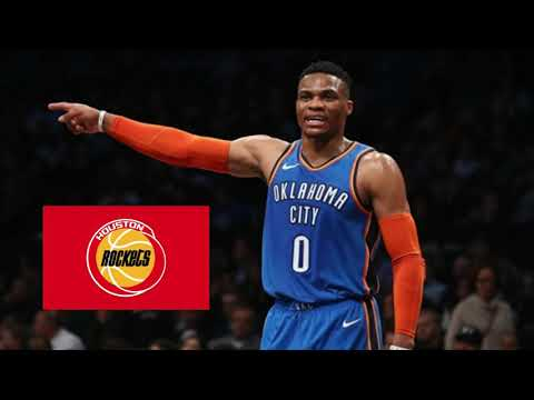 RUSSELL WESTBROOK TRADED TO THE ROCKETS