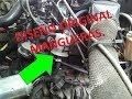 Como restaurar la manguera original de combustible achicharrada.Renault 9