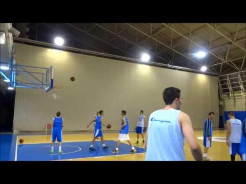 EOK |  (Video) Στιγμές από τo προπονητικό τριήμερο (1-3/3) της Εθνικής U17 στα προπονητήρια του ΟΑΚΑ