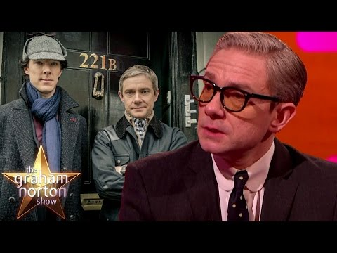 Martin Freeman Teases New Season of Sherlock - The Graham Norton Show