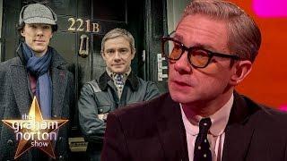 Martin Freeman Teases New Season of Sherlock - The Graham Norton Show