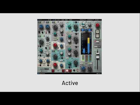 Brainworx - bx_console AMEK 9099   Drums Playthrough