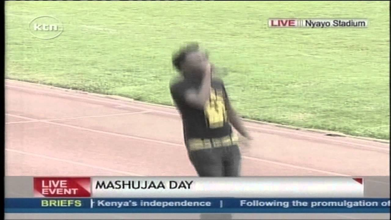 Bahati performs his song