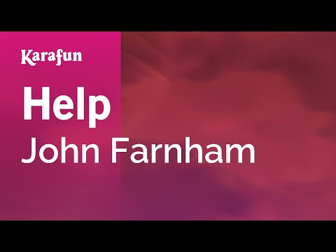 Karaoke Help - John Farnham *