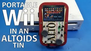 Kill Mii: Portable Wii in an Altoids Tin