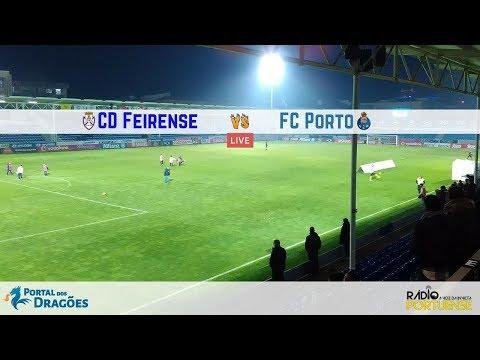 Relato do CD Feirense vs FC Porto