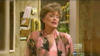 Nine News June 4th - The Death Of Rue McClanahan