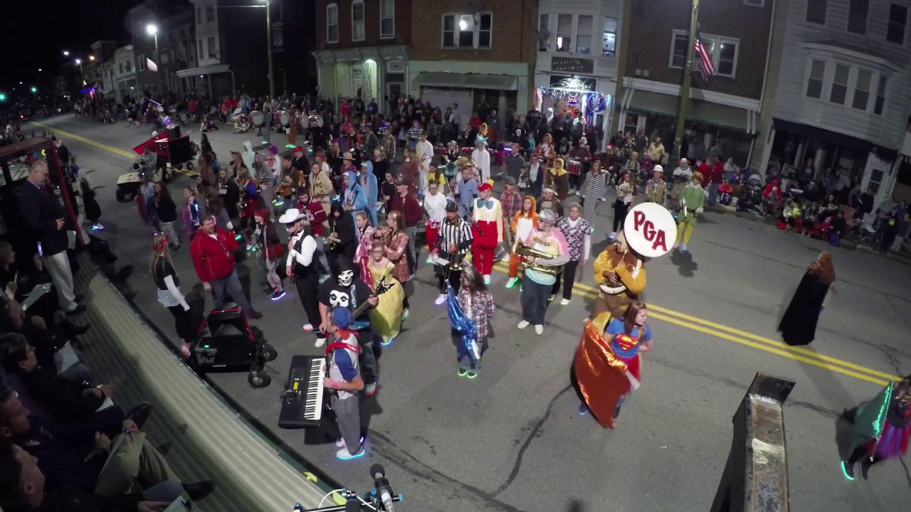 2020 Halloween Parade Pine Grove Pa Stunning Performance by Pine Grove Area Marching Band in St Clair