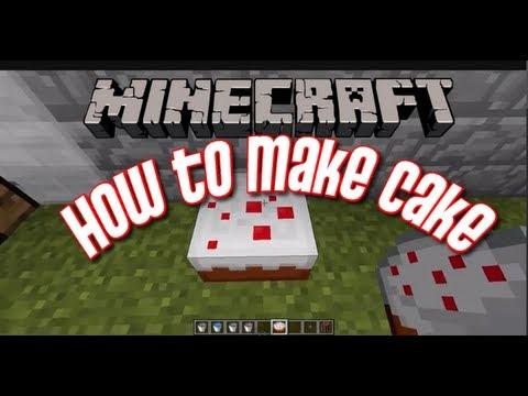 Minecraft Minecraft How To Make A Cake