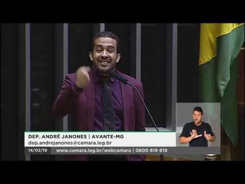 Dep. André Janones registra decepção com o Congresso e fala sobre a comissão sobre Brumadinho - MG