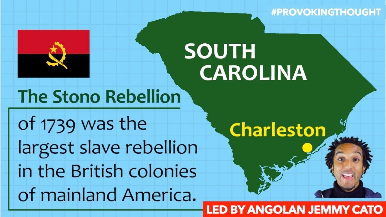 STONOWAY SLAVE REBELLION, SOUTH CAROLINA