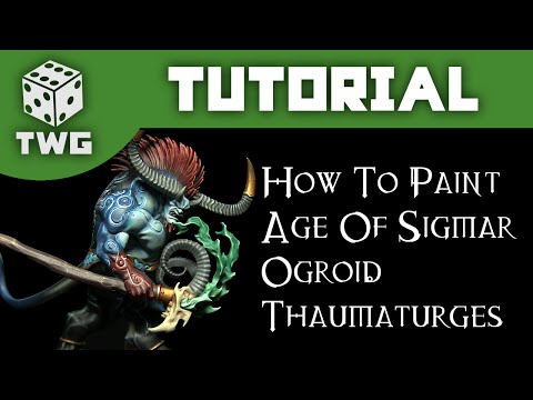 Games Workshop Tutorial: How To Paint An Age of Sigmar Ogroid Thaumaturge