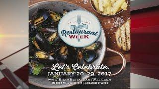 2017 Winter Restaurant Week