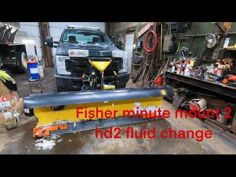 Fisher Minute Mount 2 Hd2 Fluid Change