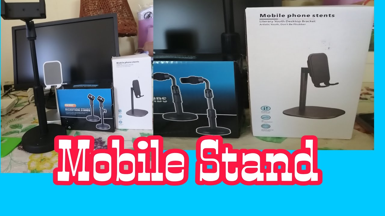 UNBOXING MY NEW MOBILE PHONE STENTS