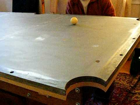 Pool Table Installation Part Leveling The Slate Mpegvideo YouTube - Pool table leveling system