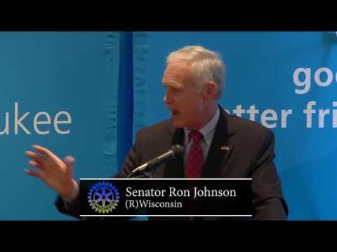 Milwaukee Rotary Club: Senator Ron Johnson