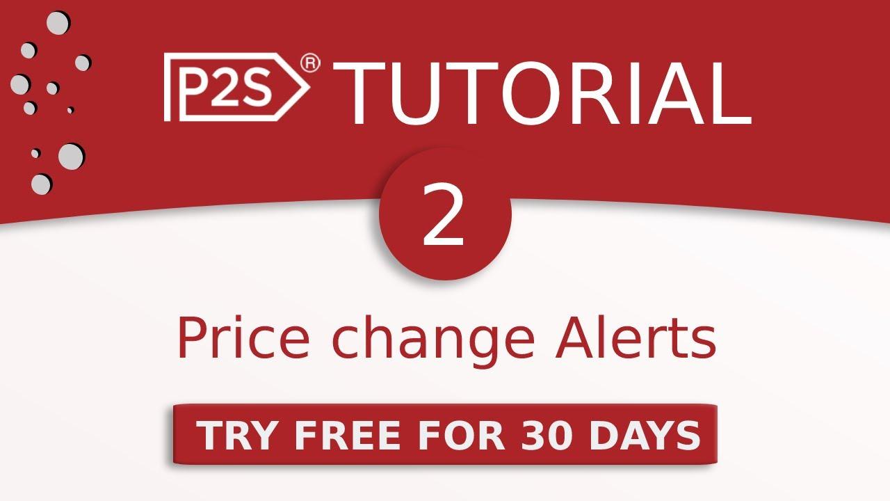 Price2Spy tutorial #2 - price change alert emails