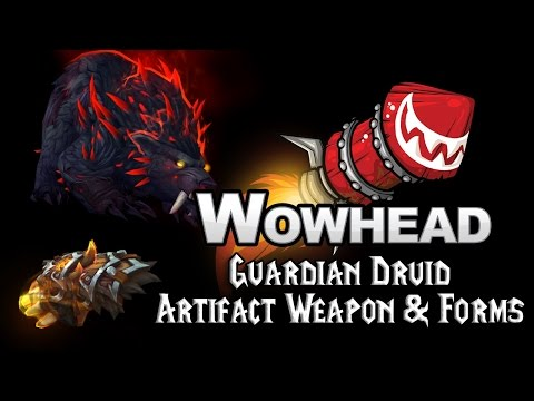 Guardian Druid Artifact Weapon: Claws of Ursoc - Guides