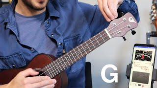 How to tune a UKULELE for total beginners screenshot 5