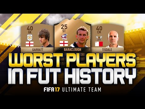 THE WORST PLAYERS IN FUT HISTORY! W/ 25 RATED INFORM! 😮 - FIFA 17 ULTIMATE TEAM