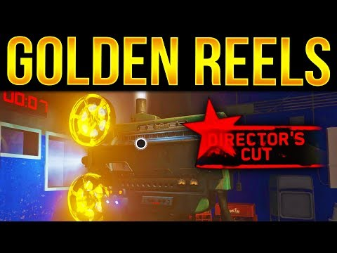 IWZombies ☆ DLC 4 GUIDE! GOLDEN FILM REELS!