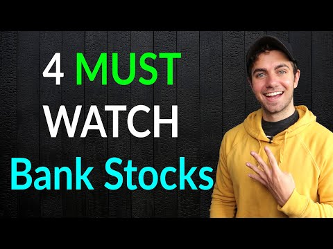 4 MUST Watch Bank Stocks For 2020