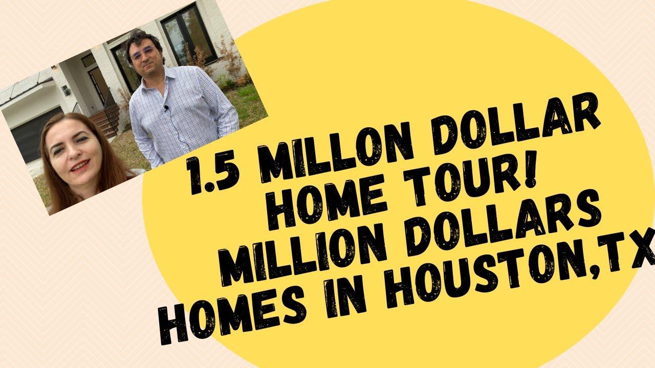 1.5 MILLON DOLLAR HOME TOUR I MILLION DOLLARS HOMES IN HOUSTON,TX
