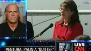 Jesse Ventura Destroys Sarah Palin on CNN