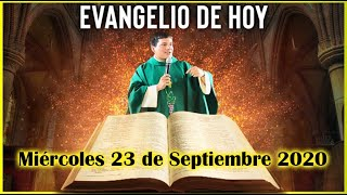 EVANGELIO DE HOY Miercoles 23 de Septiembre 2020 con el Padre Marcos Galvis