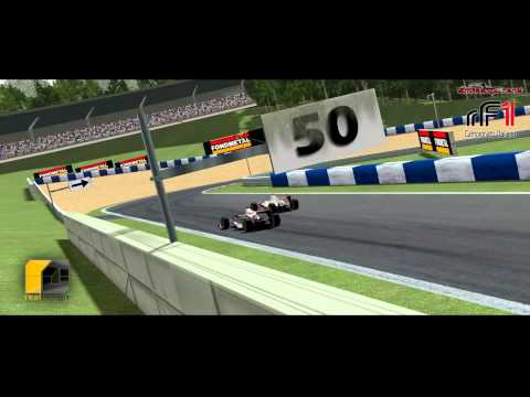 Real Design: rF1 2014/2015 Round #7 Austria by Simracingzone.net - Race Highlights