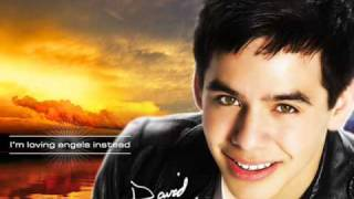 David Archuleta -- Touch my hand (girl version)