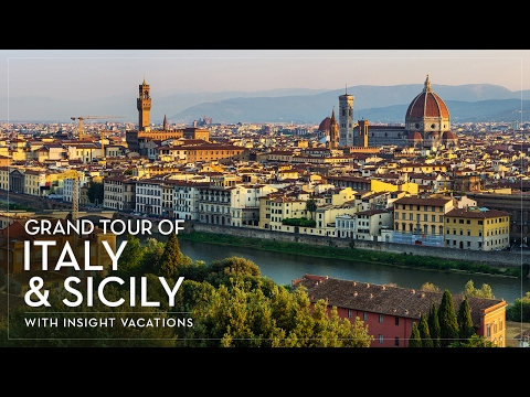 Grand Tour of Italy & Sicily with Insight Tour Director Daniele Nannetti