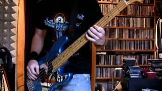 IRON MAIDEN - Running Free Bass Cover