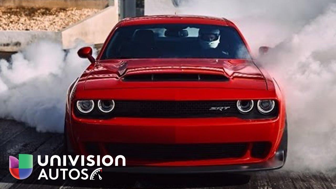 Dodge Charger Srt Hellcat >> El Demonio cobra vida en este Dodge Challenger SRT Demon ...