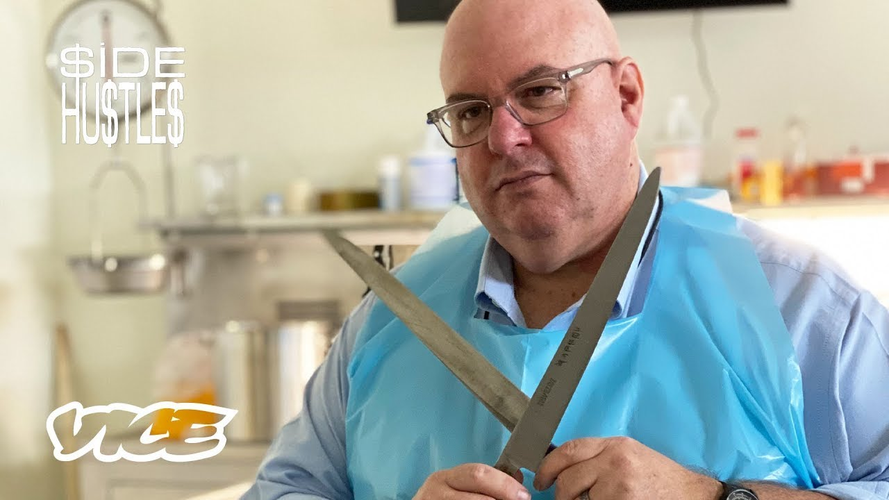 Autopsies by Day, Making Chef Knives by Night | Side Hustles