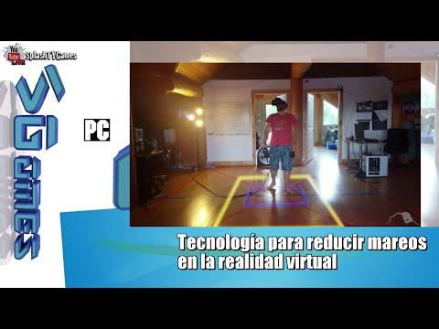 Tecnología para reducir mareos  en la realidad virtual