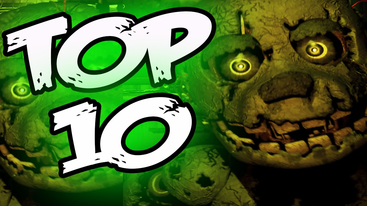 10 facts about spring trap five nights at freddy s 3 top 10 facts