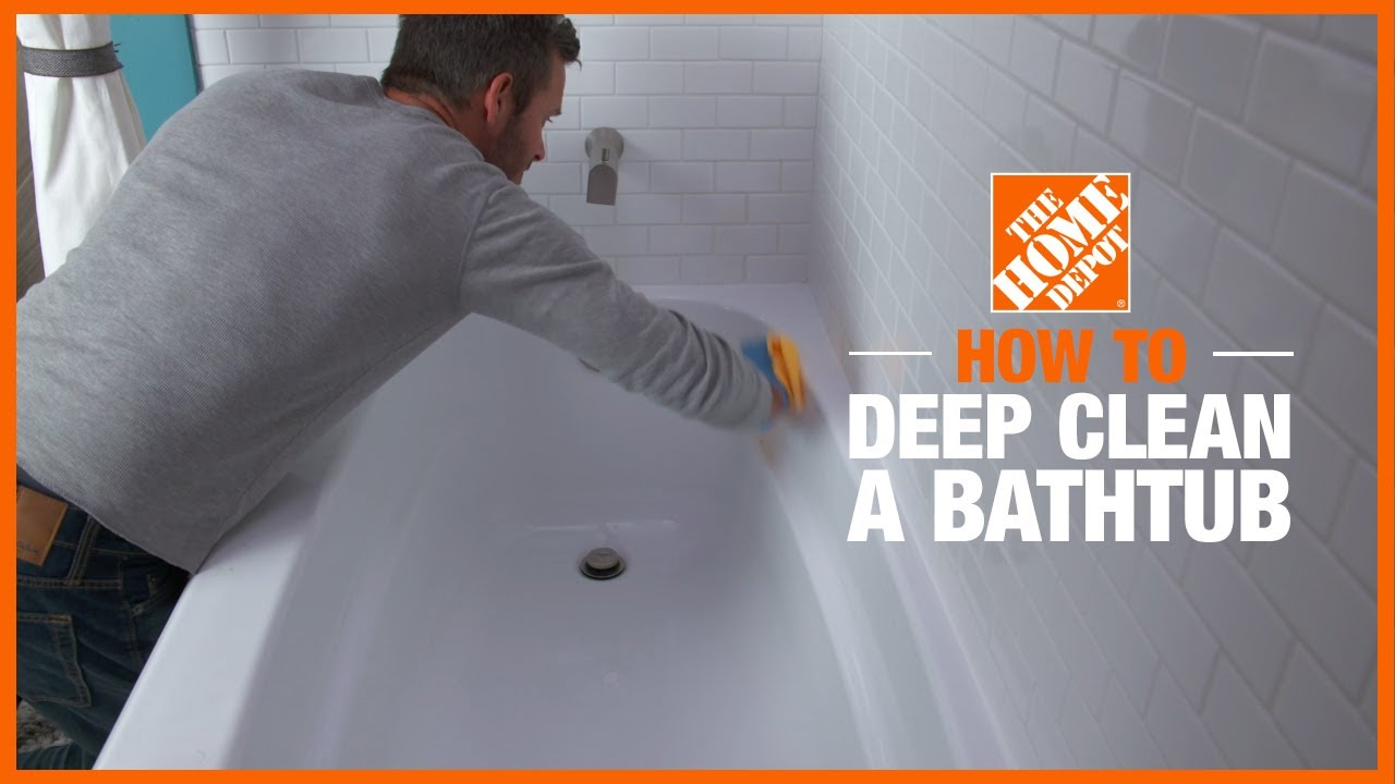 How To Clean Your Bathtub The Home Depot