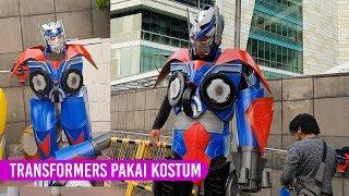 TRANSFORMERS Pakai KOSTUM - Behind the Scenes