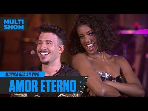 Amor Eterno  Jeito Moleque + IZA  Música Boa Ao Vivo  Música Multishow