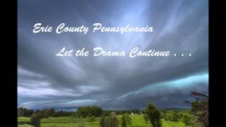 June 18 2014 Brief Storm Front Time Lapse, Erie County PA