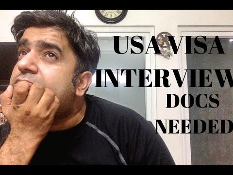 Documents Needed For B1 B2 Usa Visa Interview At Embassy