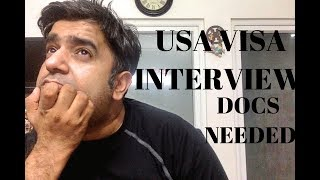 [3.74 MB] Documents Needed for B1 B2 Usa Visa Interview at embassy