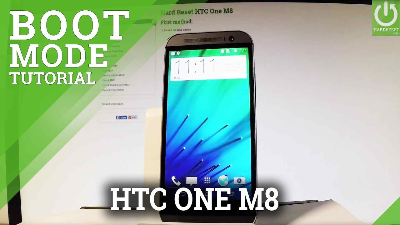 How to Enter Bootloader Mode HTC One M8 - HTC Bootloader Tutorial
