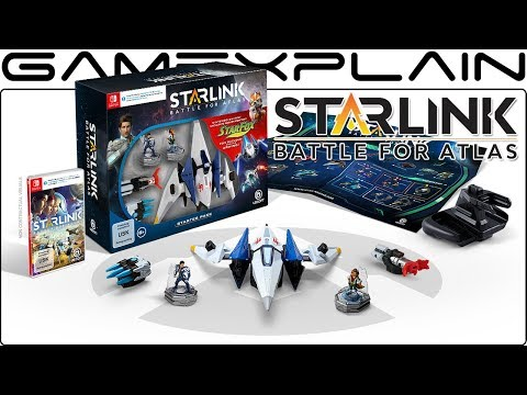Pricing & Contents Revealed for Star Fox Edition of Starlink: Battle for Atlas!