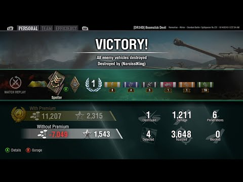 WoT Xbox Accidental Scouting: Nomonhan Winter (RU 251)
