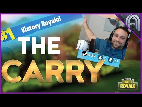 The Carry!!! 11 Kill Win!!! Squads Gameplay!!! Fortnite Battle Royale Gameplay