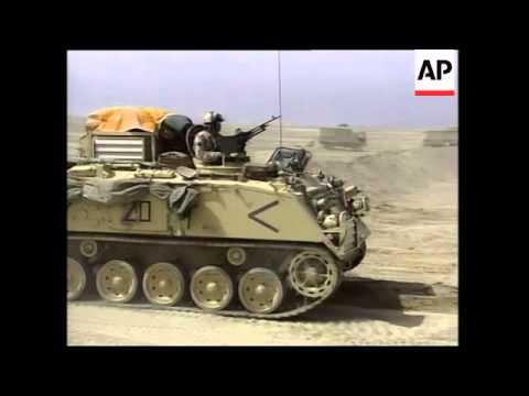 GWT: British forces destroy Iraqi military, Baath infrastructure plus secure area